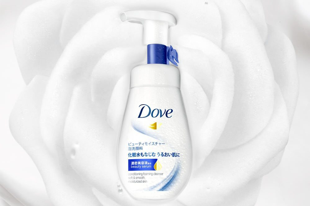 Dove Facial Cleansing Mouse Plugged production
